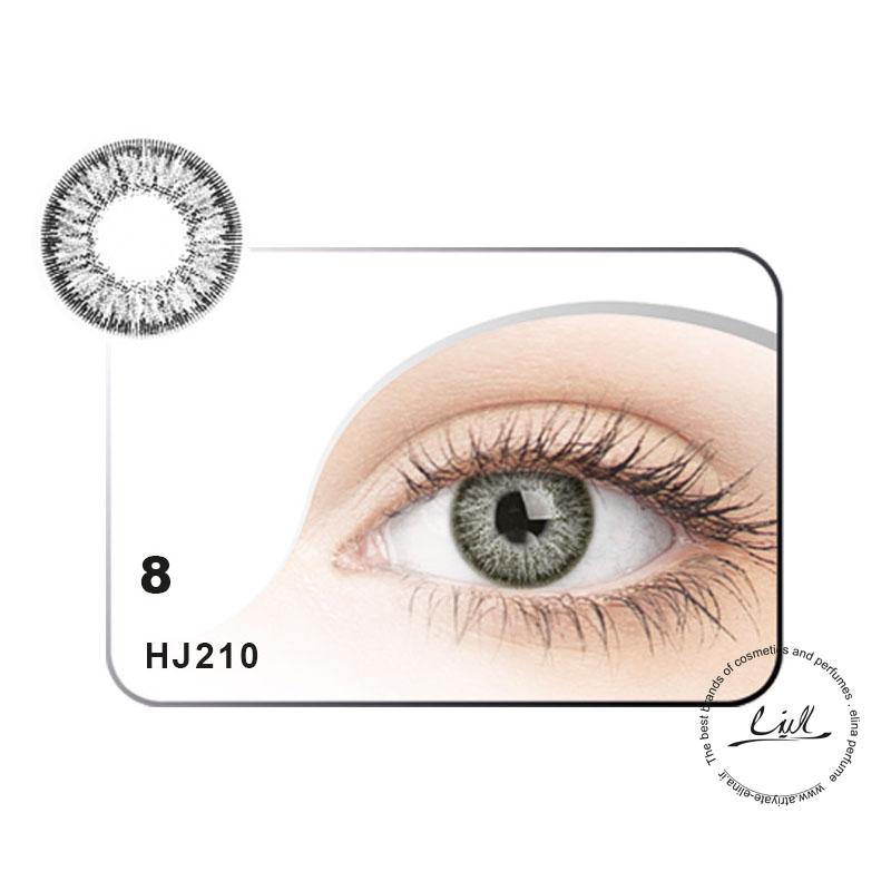 لنز رنگی شماره 8 مکسی بل کد HJ210