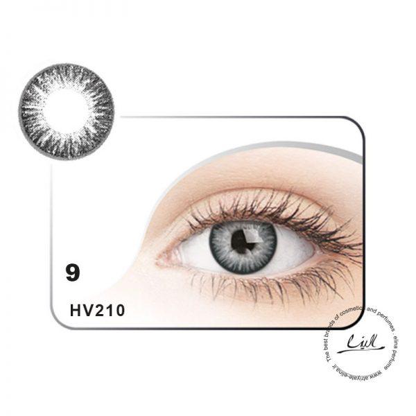 لنز رنگی شماره 9 مکسی بل کد HV210