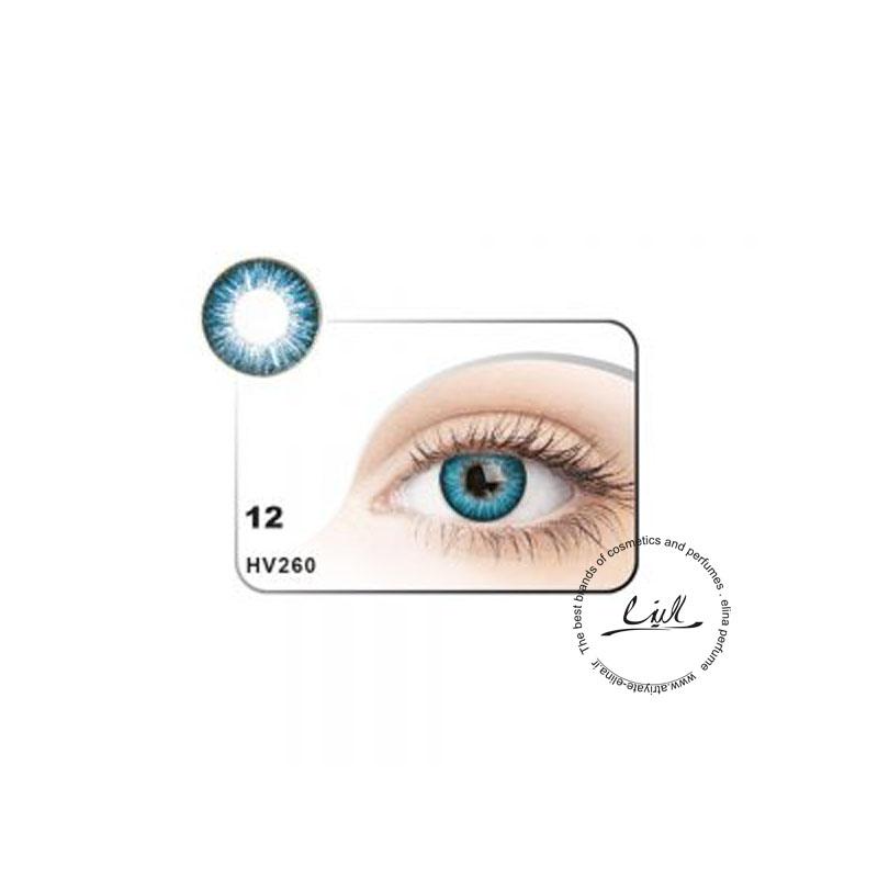 لنز رنگی شماره 12 مکسی بل کد HV260