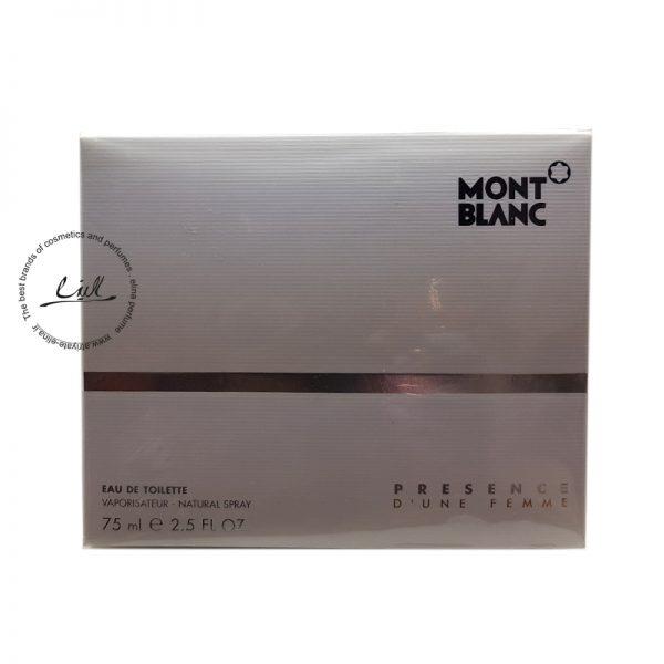 عطر ادکلن مون بلان پرسنس-Mont Blanc Presence Dune Femme