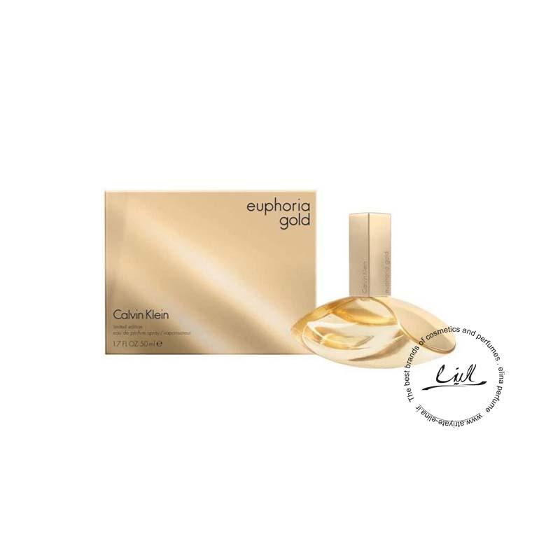 عطر ادکلن سی کی ایفوریا لیکویید گلد زنانه- Ck Euphoria Liquid Gold