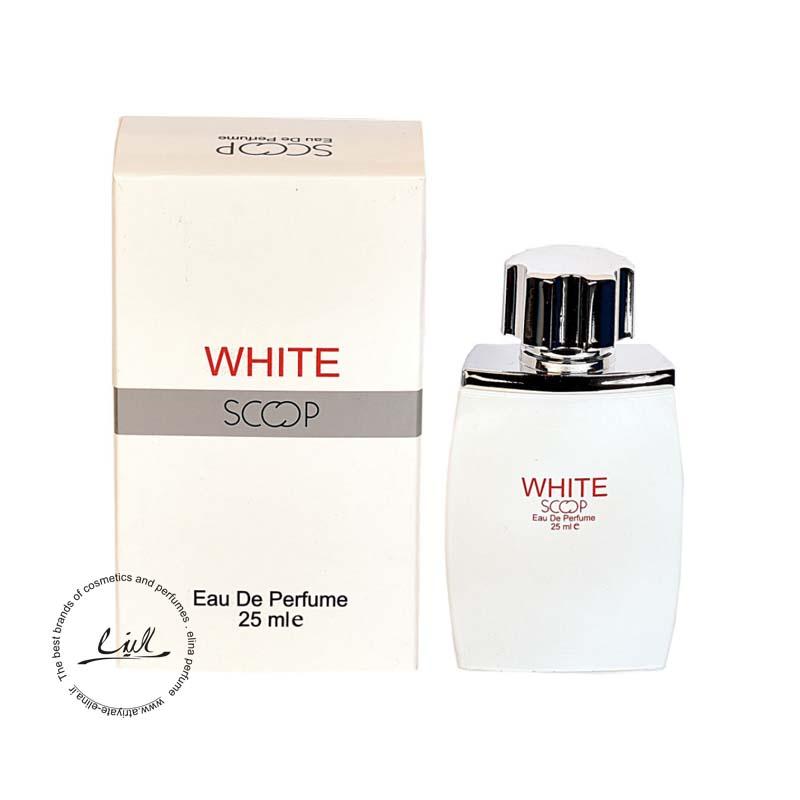 اسکوپ عطر جیبی مردانه مدل WHITE