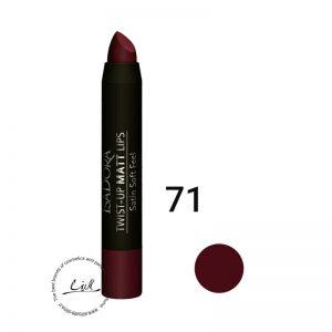 ایزادورا رژ لب مدادی مات و بادوام Isadora Twist Up Matt Lips 71