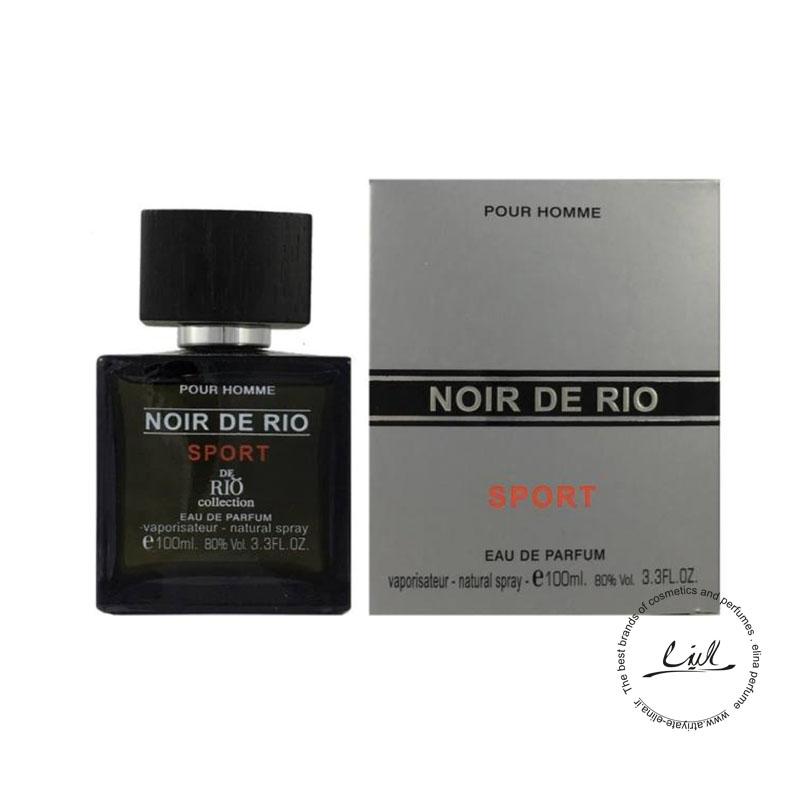 عطر ادکلن ریو مردانه مدل Rio Noir De Rio Sport حجم 100ml