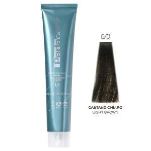رنگ مو پرلاکالر اویستر قهوه ای روشن شماره ۵/۰ -Oyster Perla Color Hair Color Num 5/0