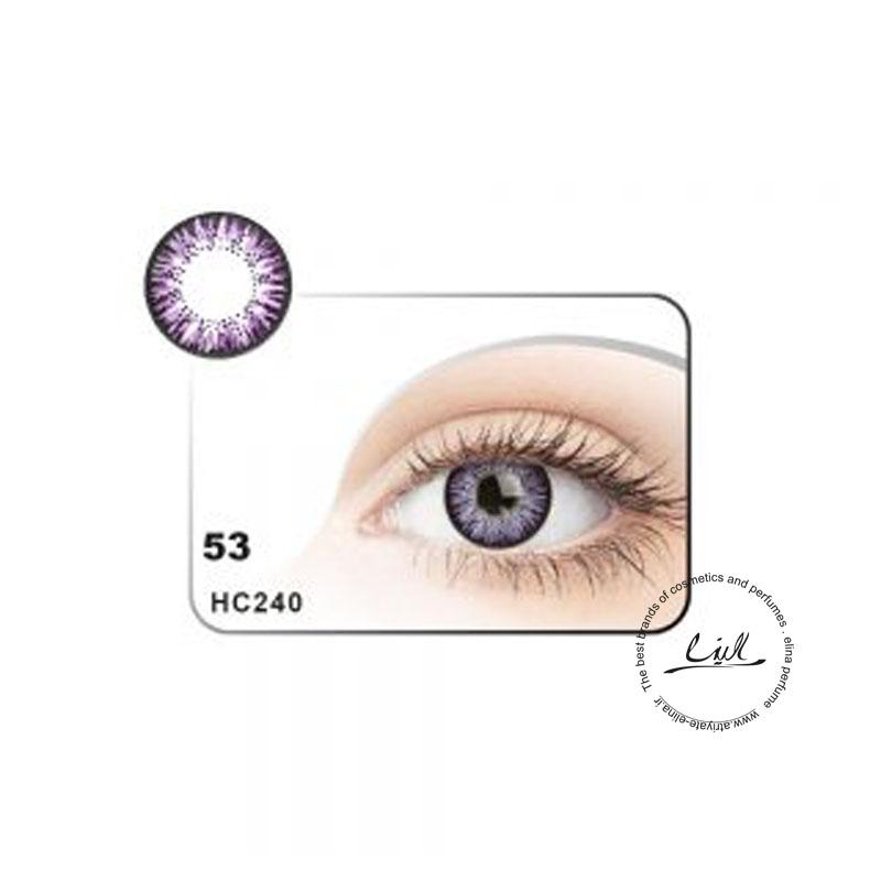 لنز رنگی شماره 53 مکسی بل کد HC240