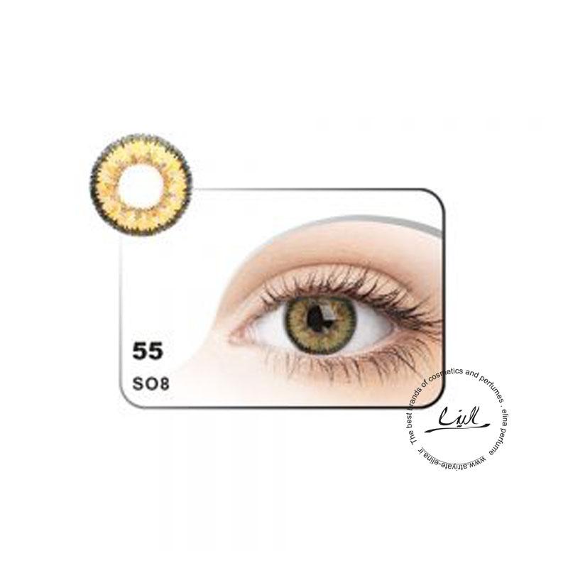 لنز رنگی شماره 55 مکسی بل کد SO8