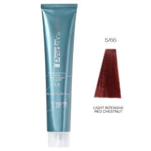 رنگ مو پرلاکالر اویستر فندقی قرمز روشن قوی شماره ۵/۶۶ -Oyster Perla Color Hair Color Num 5/66