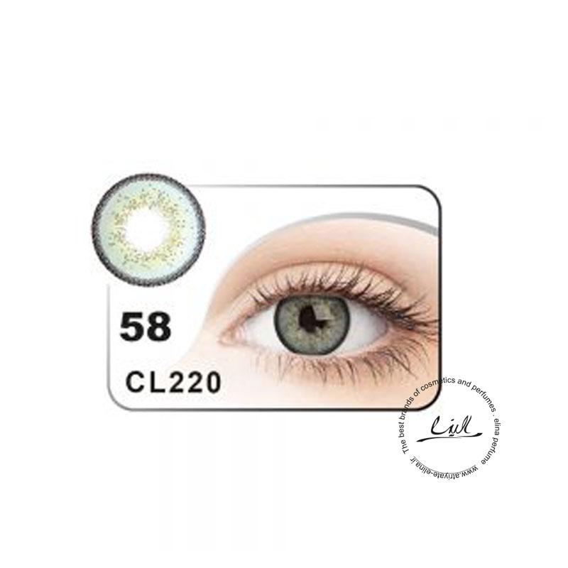 لنز رنگی شماره 58 مکسی بل کد CL220