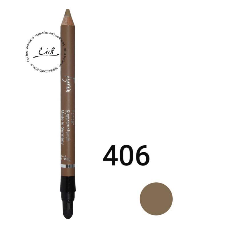 مداد ابرو پودری تایرا شماره 406