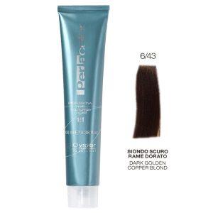 رنگ مو پرلاکالر اویستر بلوند مسی طلایی تیره شماره ۶/۴۳ -Oyster Perla Color Hair Color Num 6/43