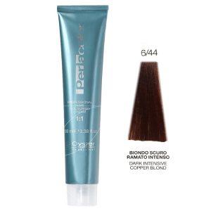 رنگ مو پرلاکالر اویستر بلوند مسی تیره قوی شماره ۶/۴۴ -Oyster Perla Color Hair Color Num 6/44