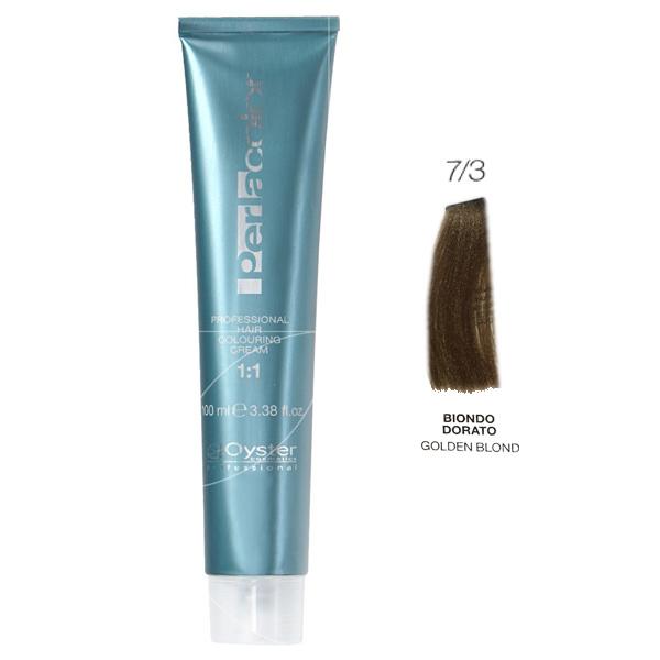 رنگ مو پرلاکالر اویستر بلوند طلایی شماره ۷/۳ -Oyster Perla Color Hair Color Num 7/3