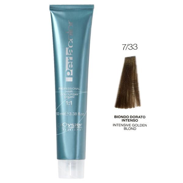 رنگ مو پرلاکالر اویستر بلوند طلایی قوی شماره ۷/۳۳- Oyster Perla Color Hair Color Num 7/33