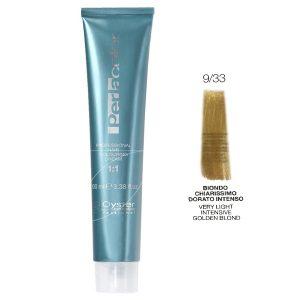 رنگ مو پرلاکالر اویستر بلوند طلایی قوی خیلی روشن شماره ۹/۳۳ Oyster Perla Color Hair Color Num 9/33