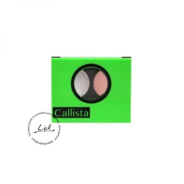 کالیستا سایه چشم دوتایی-Dual Eyeshadow Design شماره 90