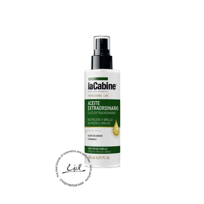 لاکابین روغن مو آرگان تغذیه کننده و درخشان کننده-Lacabine