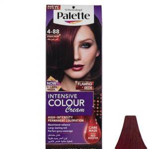 رنگ موی پالت palette مدل Intensive Dark Red شماره 88-4