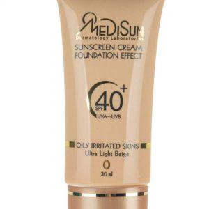 ضد آفتاب مدیسان سری Oily Skin شماره 0
