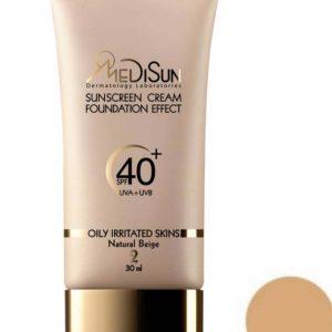 ضد آفتاب مدیسان سری Oily Skin شماره 2